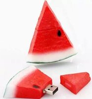 2gb 4gb usb flash drives оптовых-100% полный 4GB 8GB 16GB 2GB USB Flash Pen диски Memory stick Pendrives арбуз U диск оптовая цена