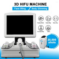 Wholesale anti aging beauty machine for sale - Group buy 3D hifu face lift skin tightening Machine wrinkle removal device anti aging the latest technology equipment for beauty salon