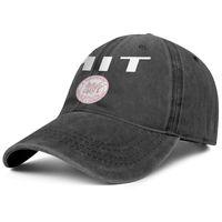 ingrosso arco superiore-Womens Mens Washed Cap Plain regolabile MIT Arched Logo Hip Hop Cotone Trucker Estate Cappelli da viaggio Flat Top Hat Benna Hat Airy Mesh