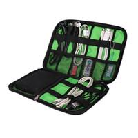saco de unidade flash usb venda por atacado-Dados de Acampamento ao ar livre Cabo Organizador Fone de Ouvido USB Flash Drives Case Bolsa de Armazenamento Digital Esportes Caminhadas Escalada Kits de Viagem