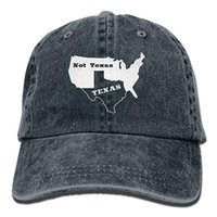 0e69582afb7 2019 New Wholesale Baseball Caps Mens Cotton Washed Twill Baseball Cap Texas  Not Texas Secede Austin Dallas Oil Longhorn Hat
