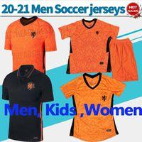 Wholesale soccer uniforms kids resale online - 20 Netherland soccer Jerseys home VIRGIL Men Kids Women Holland DE LIGT MEMPHIS Soccer Shirts Nation team Football Uniform