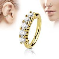 nase piercing diamant großhandel-Piercing Zirkon Kristall Diamant Nase Stud Körper Schmuck Nase Ring Bar Helix Knorpel Ohrring Stud