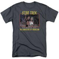 heiße orange rosa hemden großhandel-Star Trek TOS