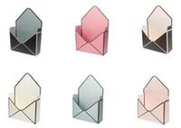 Wholesale event boxes resale online - Hot Festive Event Creative Envelope Fold Flower Box Envelope Fold Flower Box Wedding Engagement Supplies Party Decor