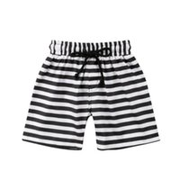 ingrosso slip uomo da bagno rosso-1-6 T Vendita calda 2019 New Fashion Toddler Bambini Neonato stampa floreale a righe Pantaloncini spiaggia pantaloni casual Sport pantaloni