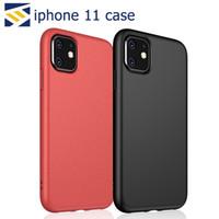 iphone aufladenabdeckung großhandel-Für iPhone 11 Pro XS XR X Max 6 7 Plus-Weizen-Stroh-Telefon-Kasten-Abdeckung TPU-Schutz-Support Wireless-Charging verfilzte Textur