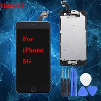 Wholesale iphone 5g price resale online - Factory price Super Quality For iPhone G C S Black White LCD Display With Touch Screen Digitizer Free DHL Shipping