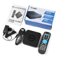 usb 5g venda por atacado-MECOOL VOSEN V1 S905X2 2 GB DDR4 16 GB ROM Caixa de TV Inteligente Android 9.0 2.4 G / 5G WiFi USB 3.0 4 K TV Box Controle de Suporte Z-Wave Dispositivo Inteligente