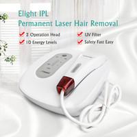 ipl hautverjüngung hausgerät großhandel-NEU IPL Haarentfernung Maschine Hautpflege Pigmententfernung Permanent Laser Haarentferner Hautverjüngung Gerät Mini Heimgebrauch Schönheit