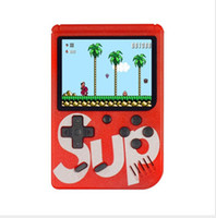 Wholesale portable mini video player resale online - SUP games Console Mini Handheld Game Box Portable Classic video game player Inch Color Display games AV out with retail box