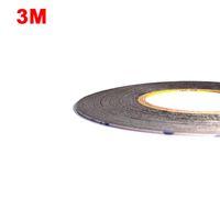 iphone klebeband großhandel-(1.5mm * 50M) 3M 9448AB zweiseitiger schwarzer Klebstreifen-Kleber für Samsung-Galaxie-Sony-iphone ipad Telefon-Touch Screen LCD-Anzeige 2016