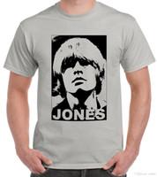 piedra gris al por mayor-Homenaje a Brian Jones Stone-Grey camiseta Jagger