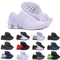 famosos zapatos de running al por mayor-nike TN Plus air max Shox Deliver 809 Famous Plus TN Ultra Mujeres Para Hombre Deportes Zapatillas Deportivas Zapatillas Deportivas Zapatillas de deporte Zapatillas zapatos Tamaño