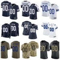 e9de906372e Custom Football Name Men Women Kids Dallas Cowboys Jersey Prescott Elliott  Cooper 9 Tony Romo Michael Gallup Jeff Heath Chidobe Awuzie Jones