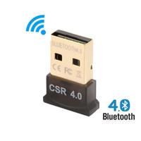 ingrosso portatile del ricevitore del bluetooth-Adattatore Bluetooth USB wireless Bluetooth V4.0 CSR 4.0 Dongle Music Sound Ricevitore Bluetooth Adaptador per PC LAPTOP