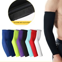 Wholesale arms warmer cycling resale online - Compression Single Arm Sleeves Warmer Running Cycling Sleeves Sun UV Protection Arm Sleeve Outdoor Hiking Sport