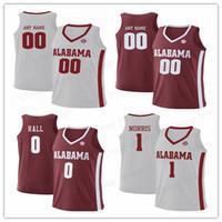c00bf757c Wholesale customized college basketball jerseys for sale - Customize Riley  Norris Alabama Crimson Tide Donta Hall