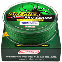 100Meters 1box Green Fishing Lines 4 Weaves Braid Line Available 6LB-100LB(2.7KG-45.3KG) PE Line Pesca Fishing Tackle Accessories E-003