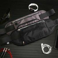 Wholesale waist holder for sale - Group buy Portable Marathon Outdoor Sports Running Bag Hide Water Bottle Holder Waist Pack Phone Case Belt Waist Pack Fitness Accessories