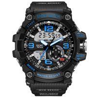 relógios suíços venda por atacado-Atacado Coreano Moda Relogio Mens Necessário Esporte Grande Mostrador do Estudante Relógio de Couro Neutro Relógios de Negócios de Pulso Novo