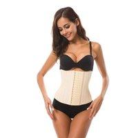 Wholesale steel boned corset sale for sale - Group buy TOP SALE Waist Tummy Shaper body shaper steel bone rubber perforated corsets body shaping court corset CZ148