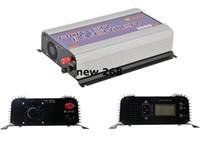 ingrosso griglia legata inverter di potenza-Freeshipping SUN-1000G-LCD 1000 Watt Grid Tie Inverter inverter di potenza inverter inverter solare, con display LCD. Funzione MPPT,