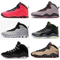 d3219dd35e66f3 Desert Camo Jumpman 10 Mens Basketball Shoes Tinker Westbrook Cement 10s Men  Retro Sports Sneakers Cool Grey Fusion Red 7-13 Wholesale