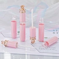 Wholesale samples for sale - Group buy Square Empty Lip Gloss Tube Gradient Pink Blue Plastic Elegant Lipstick Liquid Cosmetic Containers ml Sample