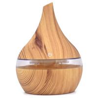 difusor de óleo de aromaterapia ultra-sônica venda por atacado-300 ml usb difusor de ar de aroma elétrico de madeira umidificador de ar ultra-sônico aromaterapia óleo essencial fabricante de névoa fria para carro de casa