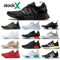 Wholesale human race lighting shoes for sale - Group buy NMD Pharrell Williams Human Race Men Women Running Shoes Yellow Heart Mind BBC Nerd Black Cream Holi Sports Outdoor Jogging Shoe