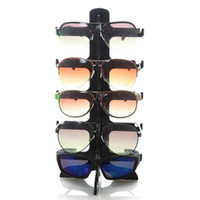 Wholesale sunglasses racks resale online - 5 Layers Sunglasses Plastic Frame Display Stand Glasses Eyeglasses Colorful Eyewear Counter Show Stands Holder Rack
