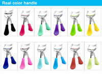 Wholesale beauty tools accessories makeup online - 10 colors Eyelash Curler with comb Cosmetic Curler Curling Eyes Tweezer For Eyelashes Beauty Makeup Tools Accessories