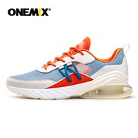 Wholesale women's athletic sneakers for sale - Group buy 2020 Onemix Men s Running Shoes Summer Breathable Mesh Cushion Air Sport Outdoor Shoes Athletic Trainers Women s Sneakers
