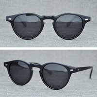 Wholesale oliver people sunglasses for sale - Group buy Men Eyewear Rectangle Oliver Polarized OV Peoples OV5186 Glasses Retro Colorful Box Sunglasses Glasses Sun Women Driving With Original Qgsd