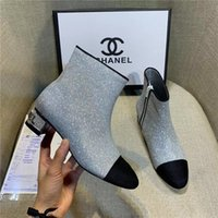 Wholesale bridal shoes for winter wedding for sale - Group buy Rhinestone Wedding Shoes For Women Luxury High Heels Top Quality Ankle Length Bridal Shoe Winter Wear Evening Party Boots
