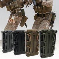 gürtelclip tasche inhaber großhandel-Clip Box Holder Zubehör Jagdmagazintasche Outdoor Tactical Hole Box Holder Softshell Wear Belt Zubehör