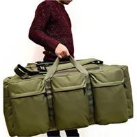 sacolas multifuncionais venda por atacado-2019 Sacos de Viagem Dos Homens do vintage Grande Capacidade de Lona Tote Bagagem Portátil Bolsa Diária Bolsa Multifuncional Bagagem Duffle Bag