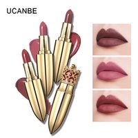 ingrosso cosmetici rouge-4pcs / lot trucco di nuovo stile Dea Blooming rossetto idratante Lip Colour Batom lunga durata impermeabile Rouge Red Cosmetic