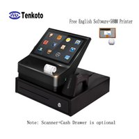 china touch screen android groihandel-NFC-freie Positions-Software 10 Zoll-Minibestellungs-Kiosk-Menü Position mit 58MM Drucker China Android-Touch Screen androides Terminal-Zahlungs-System