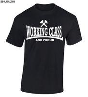 neue punkkleidung großhandel-Shubuzhi Fashion New Tees T-Shirts Arbeiterklasse T-Shirt Oi Punk Streetpunk Haut Kopf 1969 Sommer Männer Kleidung sbz3224