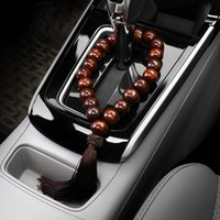 Wholesale buddha ornament for sale - Group buy Car Ornament Automotive Stall Beads Automobiles Interior Rearview Mirror Decoration Pendant Buddha Beads Auto Gear Trim Gift