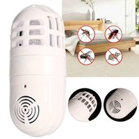 indoor insektenkiller großhandel-Elektrische Atomic Insect Zapper Haushalts-Plage-Mörder Inneninsektenvernichter Ultraschall-Moskito-Mörder-Lampe Schädlingsbekämpfung CCA-11762 50pcs
