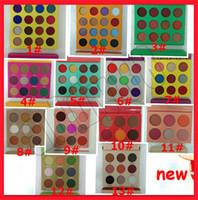 magische palette großhandel-2019 neue Augenverfassungs-Zulu-Augenschminkepalette 13 Arten Magische Nubian Augenschminkepalette Kleopatra-Augenschminke-Mattschimmer-Paletten Freies Verschiffen