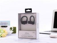 ingrosso nuove cuffie s-Nuovo 5.0 Cuffie Bluetooth TWS S-3 sport Cuffie stereo da appendere all'orecchio per iPhone con confezione al dettaglio