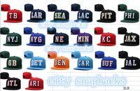 Wholesale New Caps Football Snapbacks Hats Cap City Teams Hats Mix Match Order All Caps in stock Top Quality Hat dhl