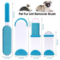 Wholesale magic lint dust brush resale online - Pet Hair Remover Dog Comb Hair Remover Brush Magic Fur Cleaning Brushes Reusable Device Dust Brush Sofa Clothes Cleaning Lint Brush