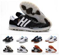 zapatos de fútbol de interior al aire libre al por mayor-Nueva Copa 70Y TF IN MD Indoor Outdoor 70 Year Mens Primeknit Mundial Fútbol Fútbol Zapatos Botas Tacos baratos Tamaño 39-45