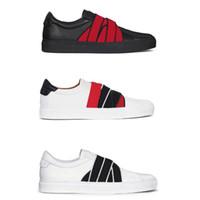 mini kutu 4g toptan satış-Tasarımcı Ayakkabı lüks Elastik 4G Dokuma Deri Sneakers Gerçek Deri Sneaker Paris İmza Knot KUTUSU boyutu ile Erkekler Kadınlar Eğitmenler 35-45