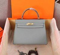 bolsa de couro embreagem pulseira venda por atacado-Moda de Luxo Designer de Mulher Bolsa de Couro Macio Clássico Tote Genuíno Couro Strap Shoulder Bag Alta Qualidade Cross body Bag Purse Clutch